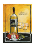 Wine Notes IV Giclee Print by Jennifer Garant
