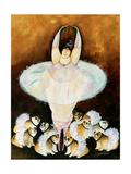 Bullerina Giclee Print by Jennifer Garant