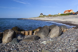 View Along Beach, Gammel Skagen, Jutland, Denmark, Scandinavia, Europe Reproduction photographique par Stuart Black