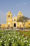Cathedral of Trujillo from Plaza De Armas, Trujillo, Peru, South America Photographic Print by Michael DeFreitas