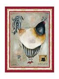 French Rooster III Stampa giclée di Garant, Jennifer