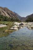 Wadi Bani Khalid, an Oasis in the Desert, Oman, Middle East Photographic Print by Angelo Cavalli