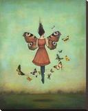 Imago Sky Stretched Canvas Print by Duy Huynh