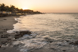 Sunset on the Beach in Mancora, Peru, South America Photographic Print by Michael DeFreitas