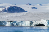 Negribreen (Negri Glacier) Photographic Print by Michael Nolan