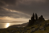Old Man of Storr at Dawn, Skye, Inner Hebrides, Scotland, UK, January 2011 Photographic Print by Peter Cairns