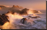 Ocean's Fury Stretched Canvas Print by Marc Adamus