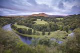 Scott's View Looking Towards Eildon Hill with the River Tweed in the Foreground, Scotland, UK Photographic Print by Joe Cornish