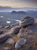 Looking Northwest from Cul Mor Summit, Assynt Mountains, Highland, Scotland, UK, June 2011 Photographic Print by Joe Cornish