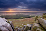 View from Higger Tor at Dawn, Peak District Np, UK, September 2011 Photographic Print by Ben Hall