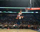 2014 Sprite Slam Dunk Contest: Feb 15 - Damian Lillard Photographic Print by Jesse D. Garrabrant