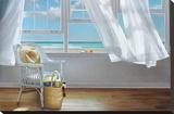 Sense Memory Stretched Canvas Print by Karen Hollingsworth