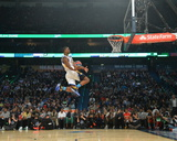 2014 Sprite Slam Dunk Contest: Feb 15 - Harrison Barnes Photographic Print by Jesse D. Garrabrant
