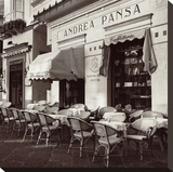 Andrea Pansa, Amalfi Stretched Canvas Print by Alan Blaustein