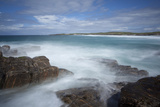 Stormy Seas Off Hosta, North Uist, Western Isles - Outer Hebrides, Scotland, UK, May 2011 Photographic Print by Peter Cairns