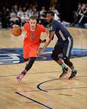 2014 NBA All-Star Game: Feb 16 - John Wall, Stephen Curry Photographic Print by Noah Graham