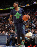 2014 NBA All-Star Game: Feb 16 - Paul George Photographic Print by Andrew Bernstein