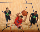 2014 NBA All-Star Game: Feb 16 - Anthony Davis Photographic Print by Andrew Bernstein