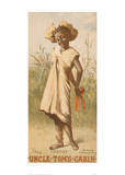Uncle Tom's Cabin, Topsy, 1886 Giclee Print