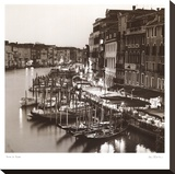 Ponte di Rialto Stretched Canvas Print by Alan Blaustein