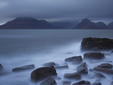 View Towards Cuillin Range from Elgol Beach. Skye, Scotland, October Photographic Print by Pete Cairns