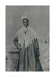 Soujourner Truth, African-American Abolitionist and Champion of Women's Rights Giclee Print