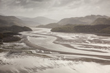Mawddach Estuary at Low Tide, Barmouth, Snowdonia National Park, Gwynedd, Wales, May 2012 Photographic Print by Peter Cairns