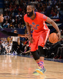 2014 NBA All-Star Game: Feb 16 - James Harden Photographic Print by Andrew Bernstein