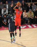 2014 NBA All-Star Game: Feb 16 - Kevin Durant, Carmelo Anthony Photo by Bill Baptist