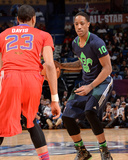 2014 NBA All-Star Game: Feb 16 - DeMar DeRozan, Anthony Davis Photographic Print by Andrew Bernstein