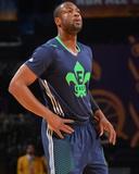 2014 NBA All-Star Game: Feb 16 - Dwyane Wade Photographic Print by Jesse D. Garrabrant