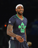 2014 NBA All-Star Game: Feb 16 - LeBron James Photographic Print by Jesse D. Garrabrant