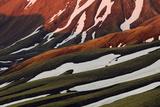 Rhyolite - Rhiolite Mountains, Landmannalaugar, Iceland, June 2008 Photographic Print by O. Haarberg