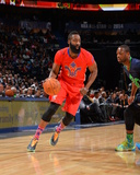2014 NBA All-Star Game: Feb 16 - James Harden Photographic Print by Jesse D. Garrabrant