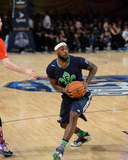 2014 NBA All-Star Game: Feb 16 - LeBron James Photographic Print by Noah Graham