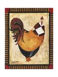 Paris Rooster I Reproduction procédé giclée par Jennifer Garant