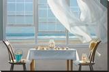 The Shell Collectors Reproduction sur toile tendue par Karen Hollingsworth