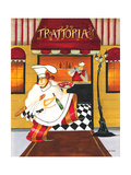 Chef at Trattoria Giclee Print by Jennifer Garant