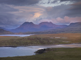 Assynt Mountains, Highland, Scotland, UK, June 2011 Photographic Print by Joe Cornish