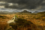 Scenic View of Moorland Landscape from Blackbeck Tarn, Lake District Np, Cumbria, UK Photographic Print by Ben Hall