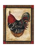 Paris Rooster II Reproduction procédé giclée par Jennifer Garant