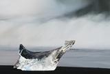Glacier Ice on the Sea Shore, Öræfi - Oraefi, Iceland, June 2008 Photographic Print by O. Haarberg