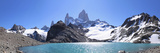 Mt Fitz Roy and Laguna Los Tres, Panoramic View, Fitzroy National Park, Argentina Photographic Print by Mark Taylor
