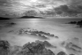 Stormy Weather across the Sound of Harris. Outer Hebrides, Scotland, April 2012 Photographic Print by Peter Cairns