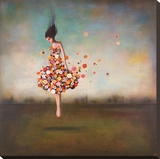 Boundlessness in Bloom Stretched Canvas Print by Duy Huynh