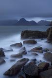 View Towards Cuillin Range from Elgol Beach, Skye, Inner Hebrides, Scotland, UK, October 2010 Photographic Print by Peter Cairns