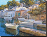 Cala Figuera 24 Stretched Canvas Print by Alex Krioutchkov
