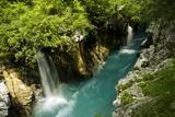 River Soca Flowing Through Velika Korita, Triglav National Park, Slovenia, June 2009 Photographic Print by  Zupanc