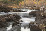 River Affric Flowing Through a Rocky Gorge, Glen Affric National Nature Reserve, Scotland, UK Photographic Print by Peter Cairns