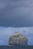 Stac Lee Home to a Northern Gannet (Morus Bassanus) Colony, St. Kilda Archipelago, Scotland, UK Photographie par  Muñoz
